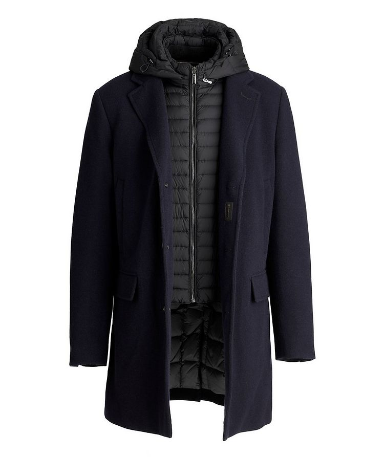 Mitchell Hooded Wool-Down Coat image 3