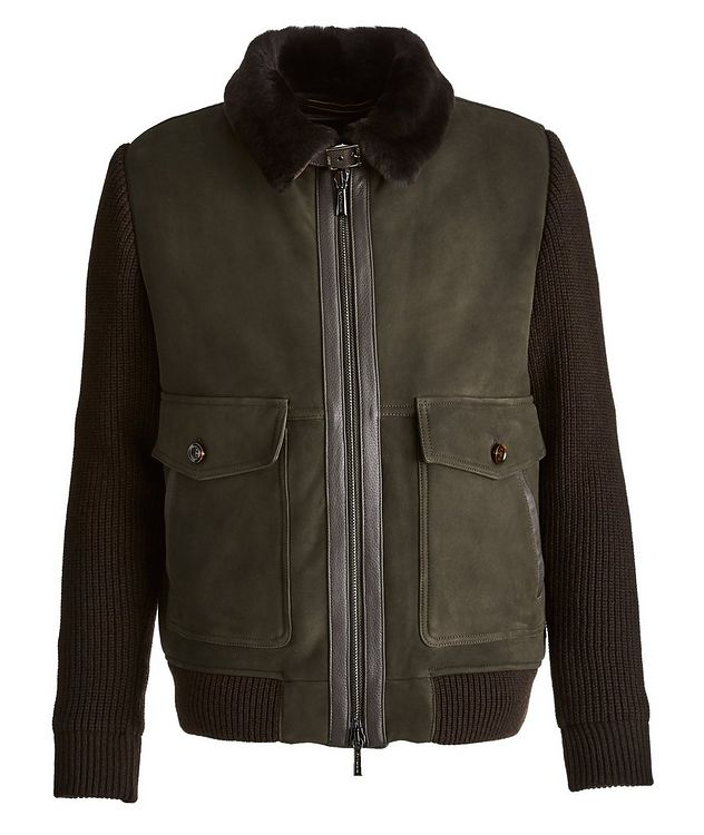 Teseo Me Suede Down Jacket picture 1