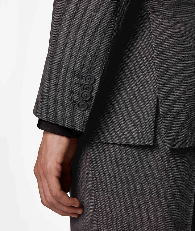 Herrel/Grace Stretch-Wool Suit picture 8