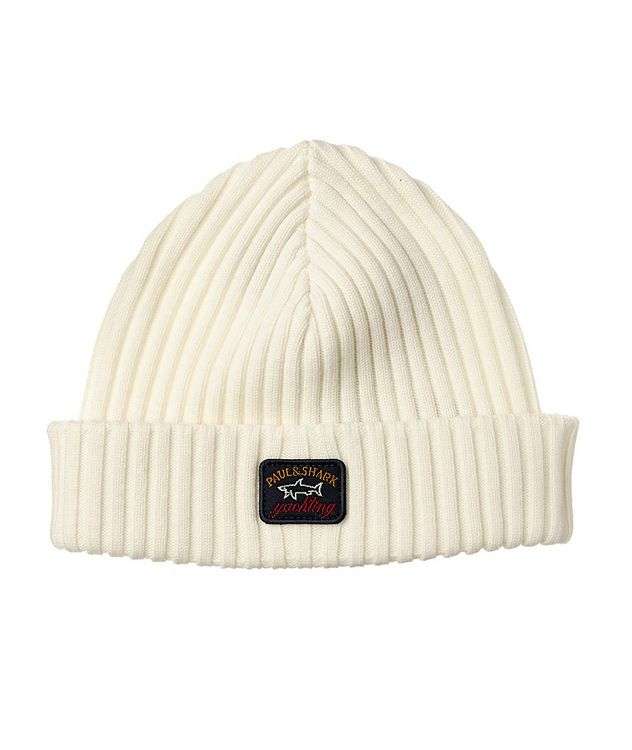 Ribbed Virgin Wool Toque picture 1