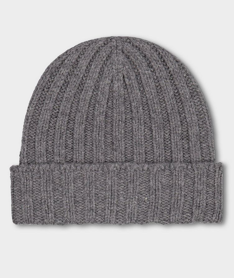 Ribbed Eco-Wool Toque image 1
