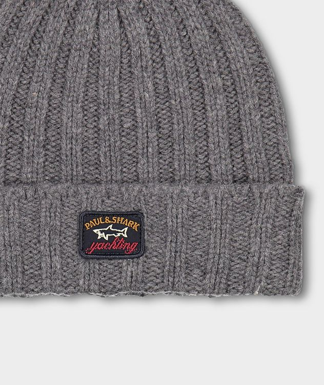 Ribbed Eco-Wool Toque picture 3