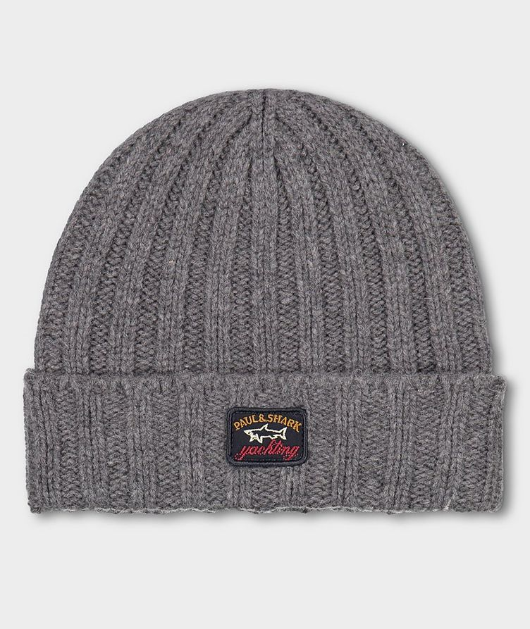 Ribbed Eco-Wool Toque image 0