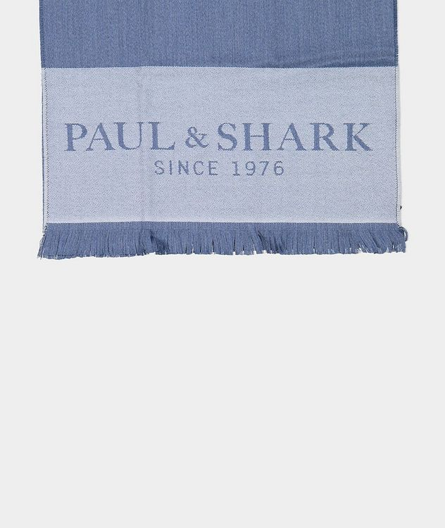 Logo Print Wool Scarf picture 2