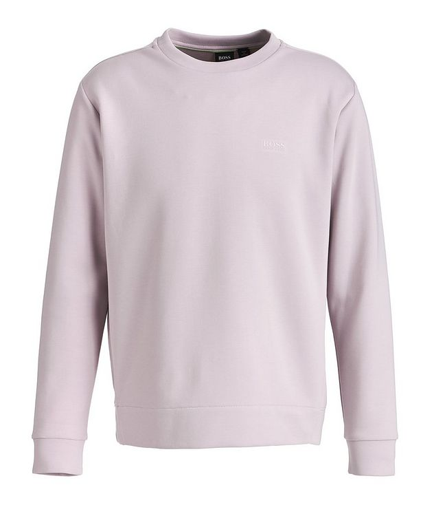 Salbo X Cotton-Blend Sweatshirt picture 1