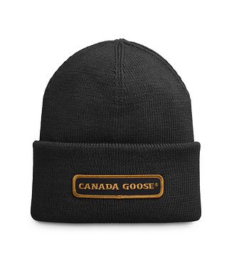 Canada Goose Wool Ribbed Knit Toque