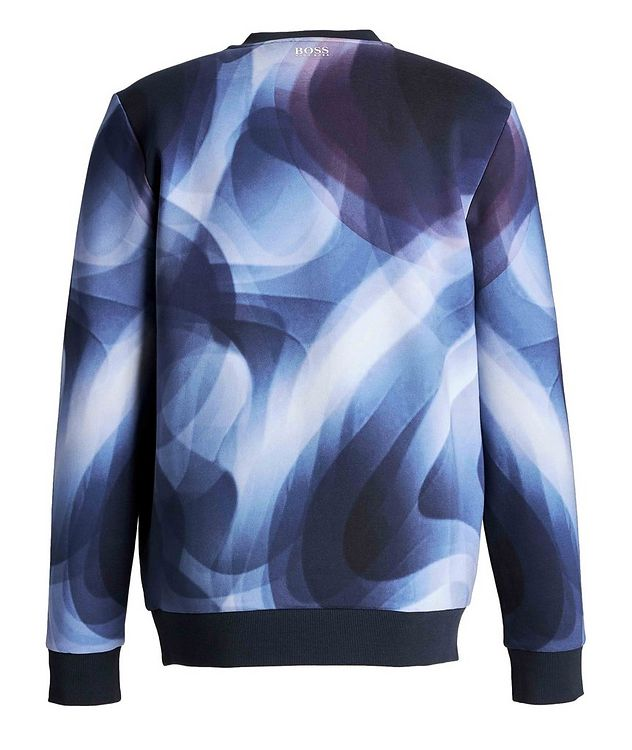 Printed Cotton-Blend Sweatshirt picture 2