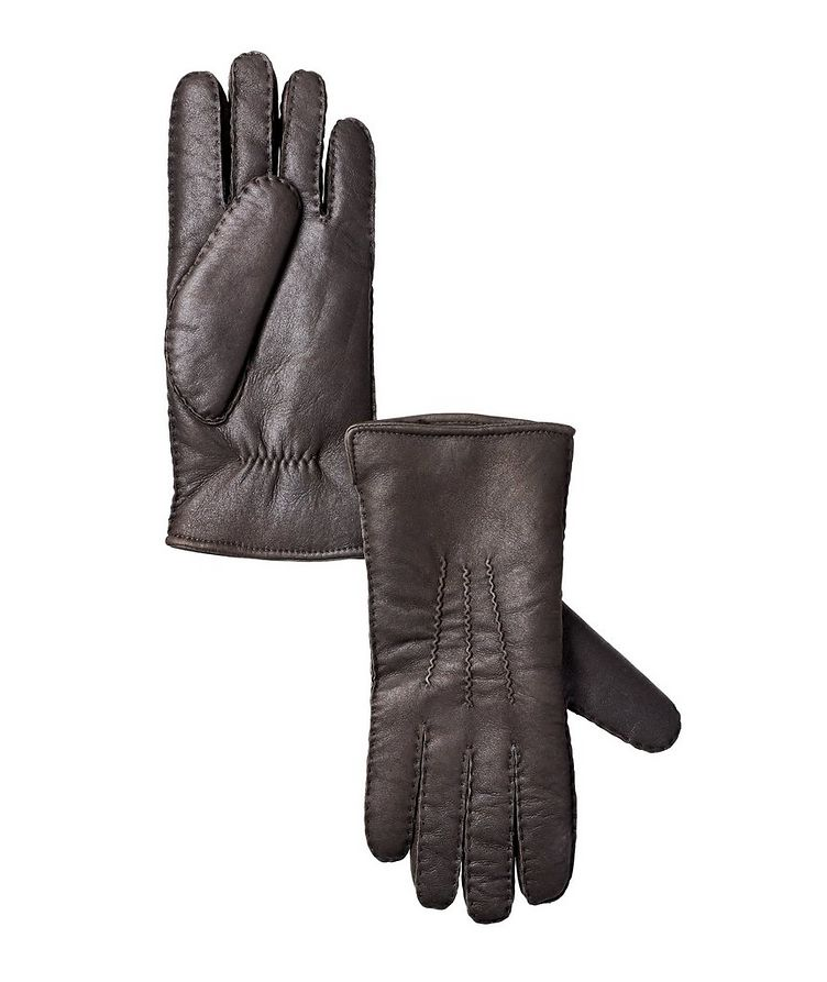 John Lambskin Shearling Gloves image 0