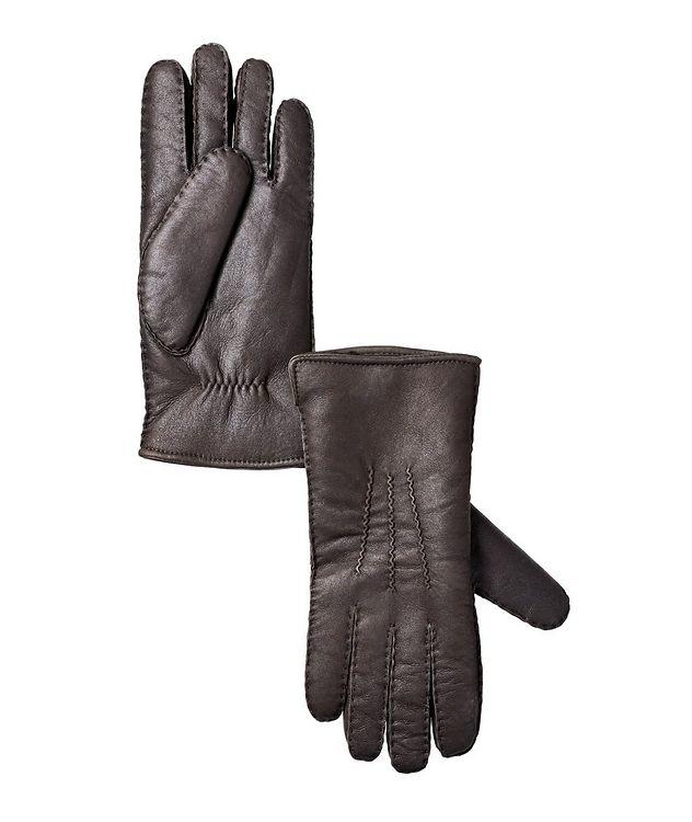 John Lambskin Shearling Gloves picture 1