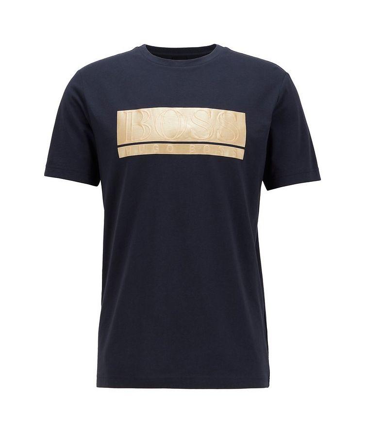 Logo Graphic Cotton-Blend T-Shirt image 0