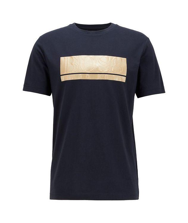 Logo Graphic Cotton-Blend T-Shirt picture 1