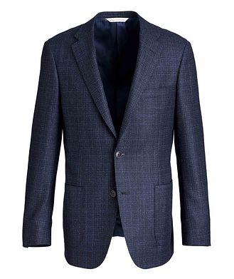 Samuelsohn Cosmo Crosshatch Sports Jacket
