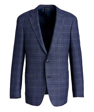 Samuelsohn Cosmo Crosshatched Sports Jacket