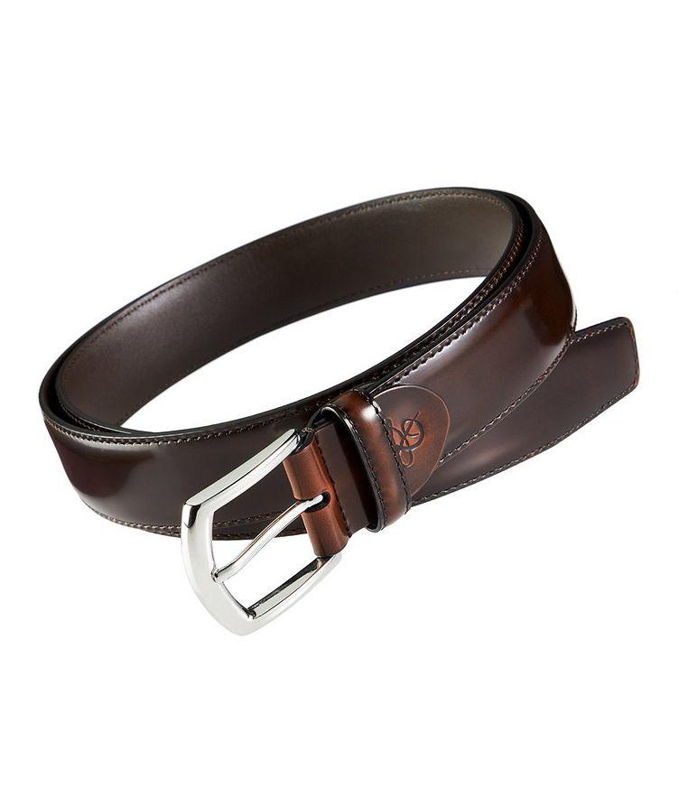 Spazzolato Leather Belt image 0