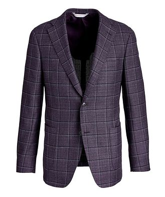 Samuelsohn Michael Windowpane Sports Jacket