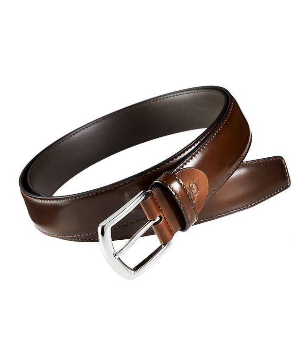 Spazzolato Leather Belt picture 1