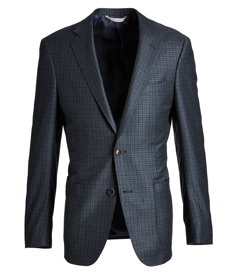 Cosmo Gingham Wool Sports Jacket image 0