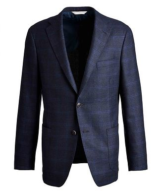 Samuelsohn Michael2 Windowpane Sports Jacket