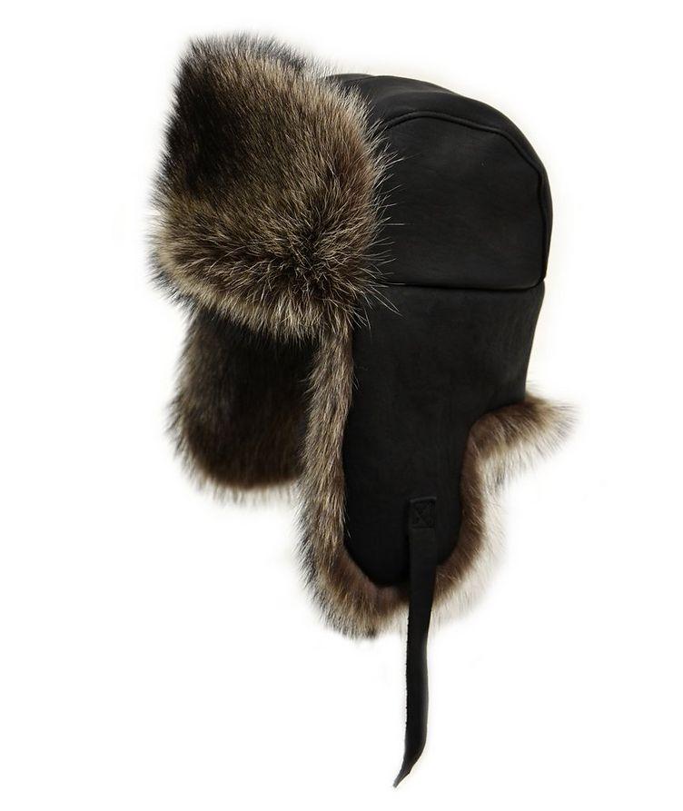 Raccoon Aviator Hat image 0