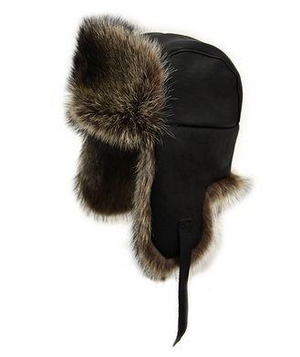 Crown Cap Raccoon Aviator Hat