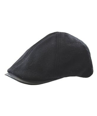 Crown Cap Wool-Blend Driving Cap