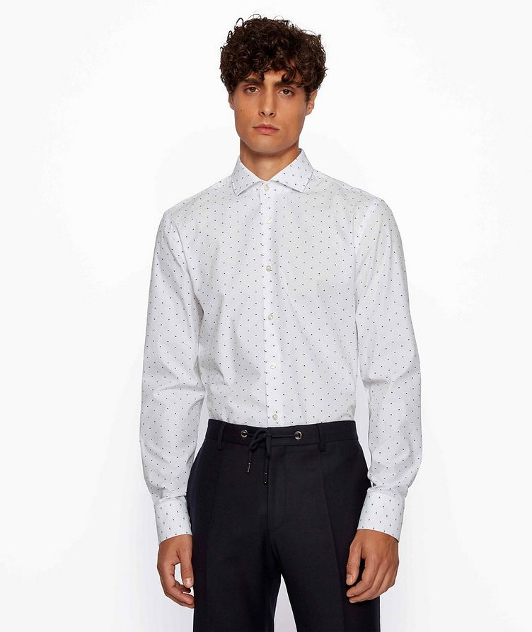 Dotted Dress Shirt image 1