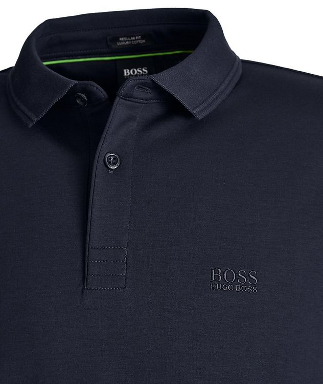 Pirol Long-Sleeve Cotton Polo picture 2