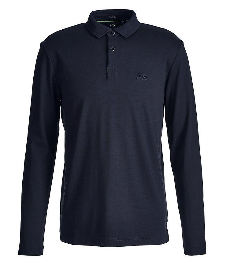 Pirol Long-Sleeve Cotton Polo image 0