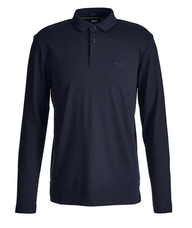 Pirol Long-Sleeve Cotton Polo picture 1