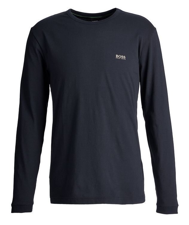 Togn Long-Sleeve Cotton T-Shirt picture 1