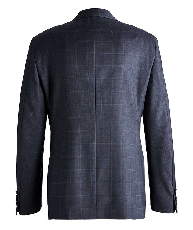 Cosmo Windowpane Check Wool Suit  picture 2