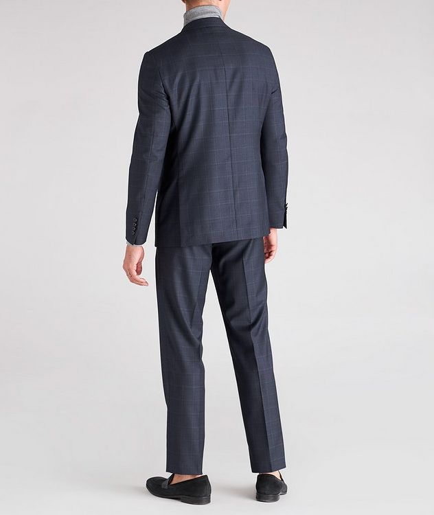 Cosmo Windowpane Check Wool Suit  picture 5