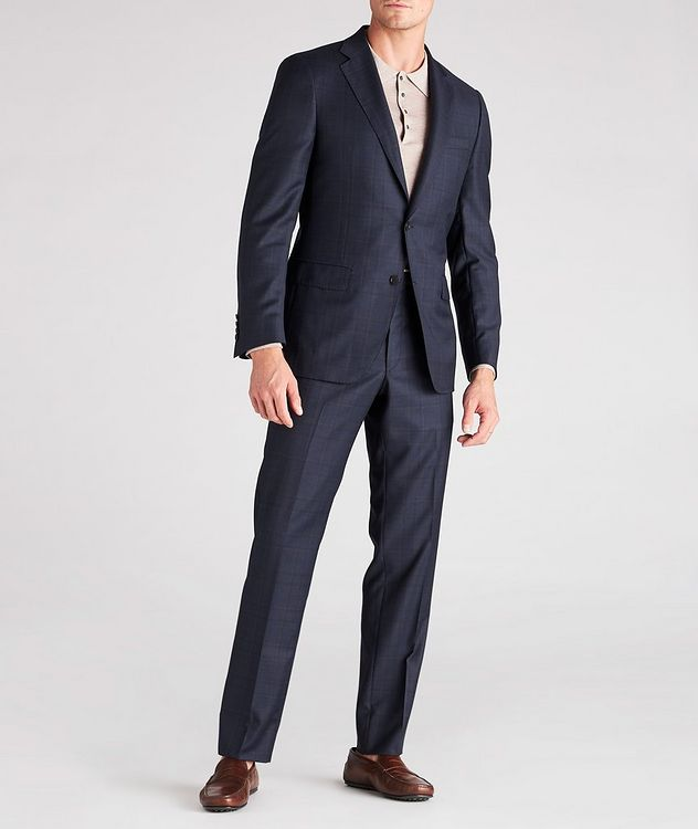 Cosmo Windowpane Check Wool Suit  picture 4