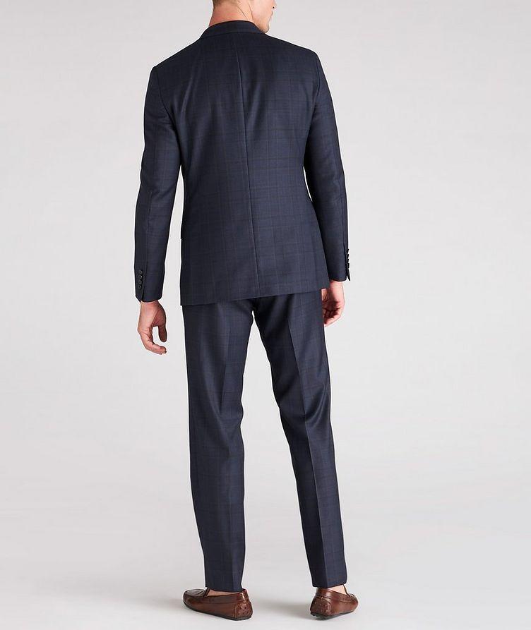 Cosmo Windowpane Check Wool Suit  image 4
