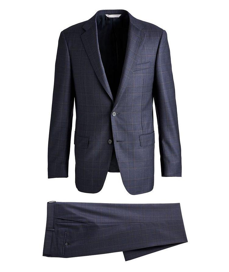 Cosmo Windowpane Check Wool Suit  image 0