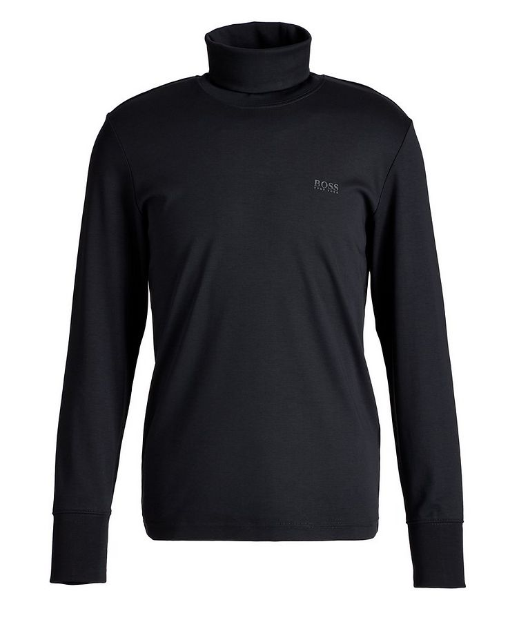Cotton Jersey Turtleneck image 0