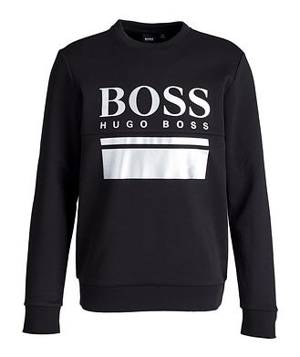 BOSS Salbo 1 Printed Double-Faced Sweatshirt