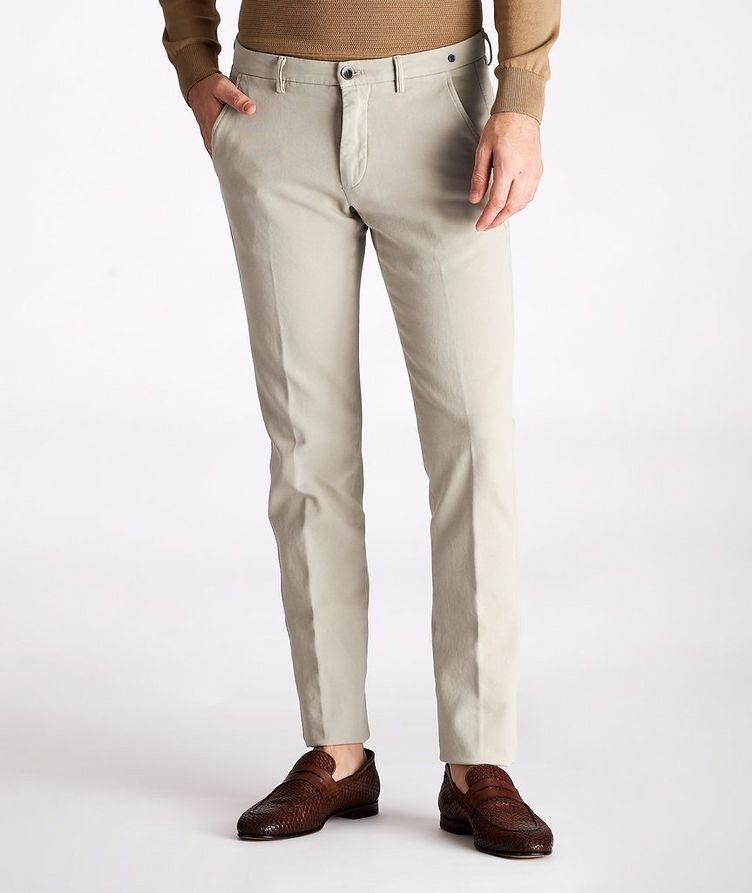 Slim-Fit Stretch-Cotton Chinos image 0