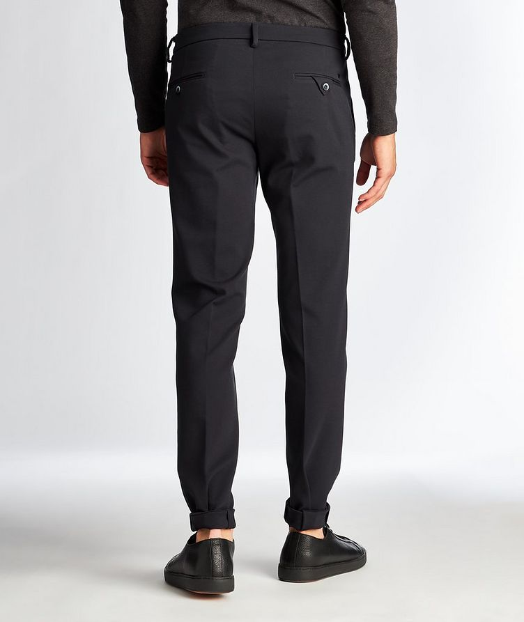 Slim Fit Stretch Trousers image 1