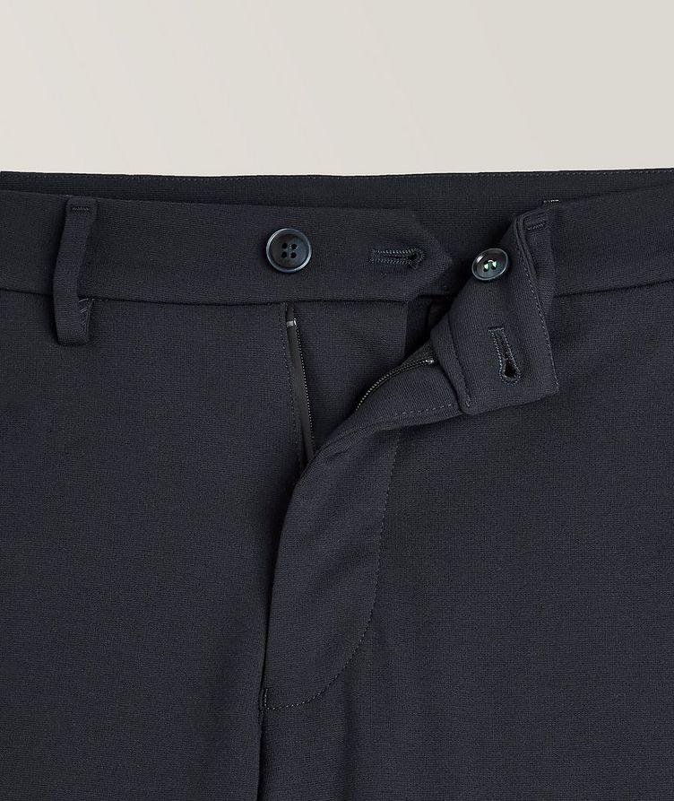 Pantalon en tissu extensible de coupe amincie image 1