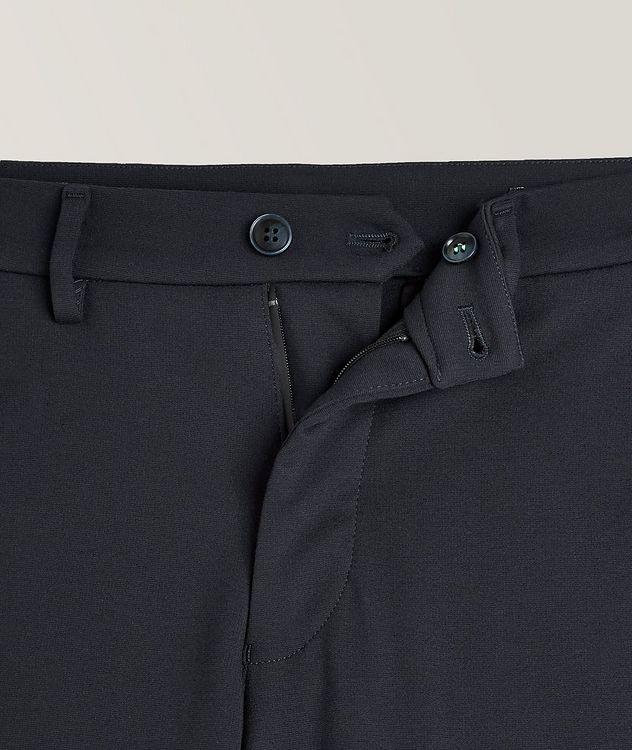 Pantalon en tissu extensible de coupe amincie picture 2