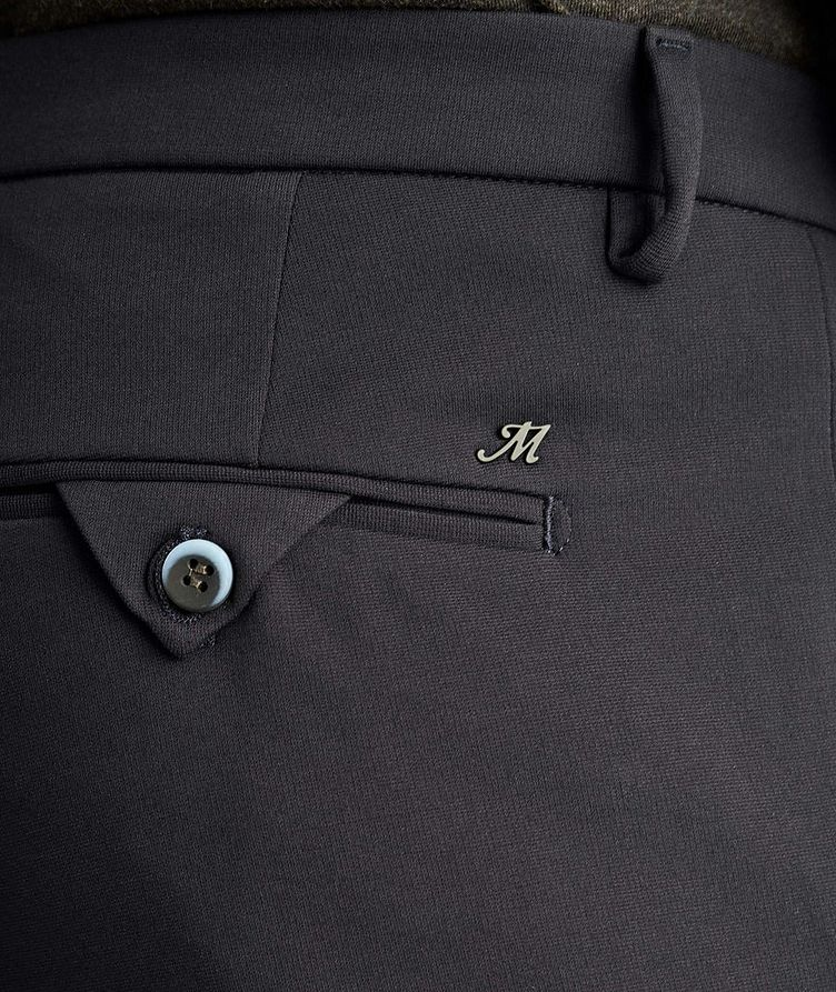 Pantalon en tissu extensible de coupe amincie image 2