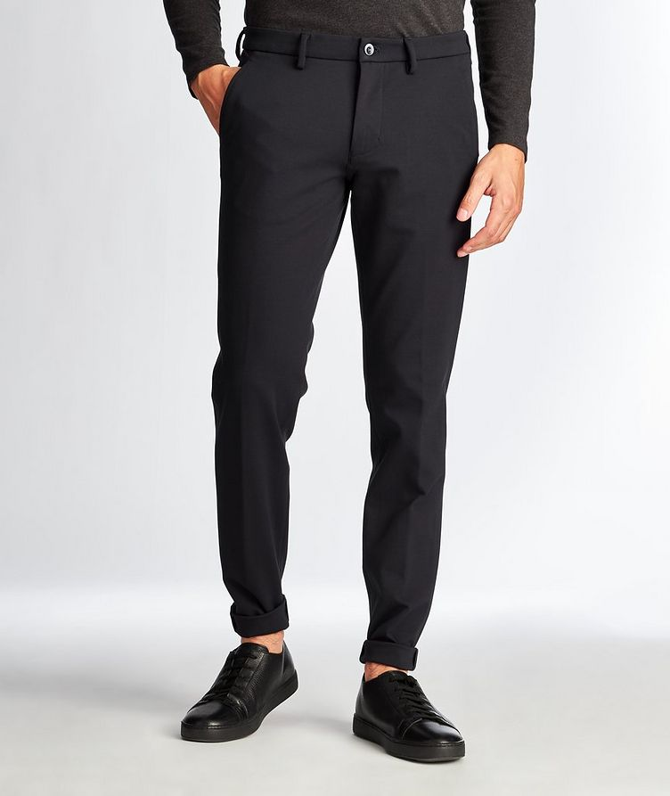 Slim Fit Stretch Trousers image 0