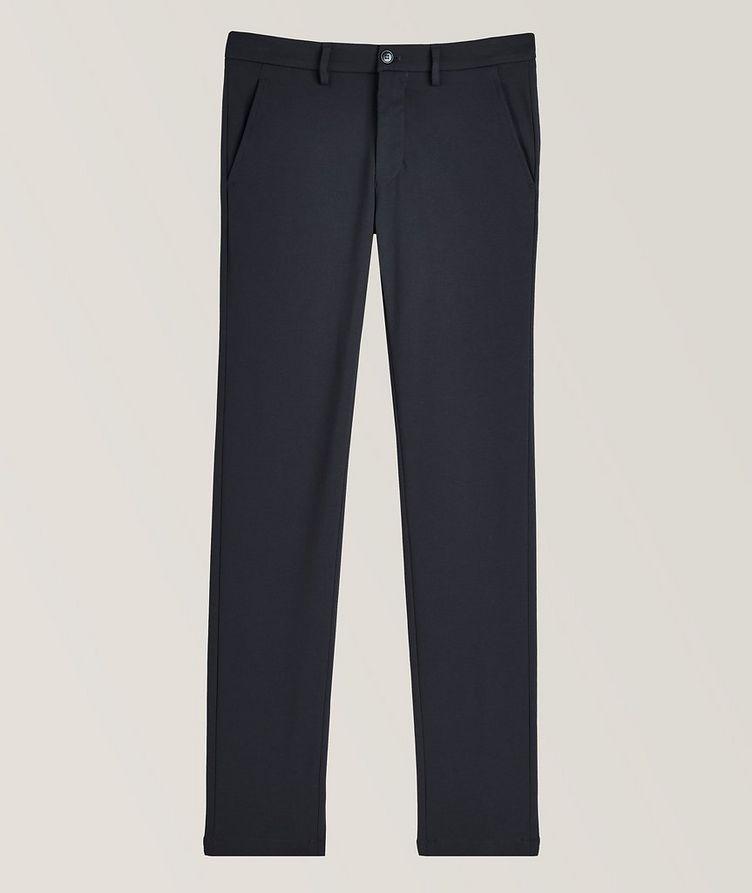 Pantalon en tissu extensible de coupe amincie image 0