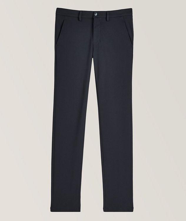 Pantalon en tissu extensible de coupe amincie picture 1