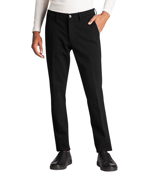 Slim Fit Stretch Trousers picture 2