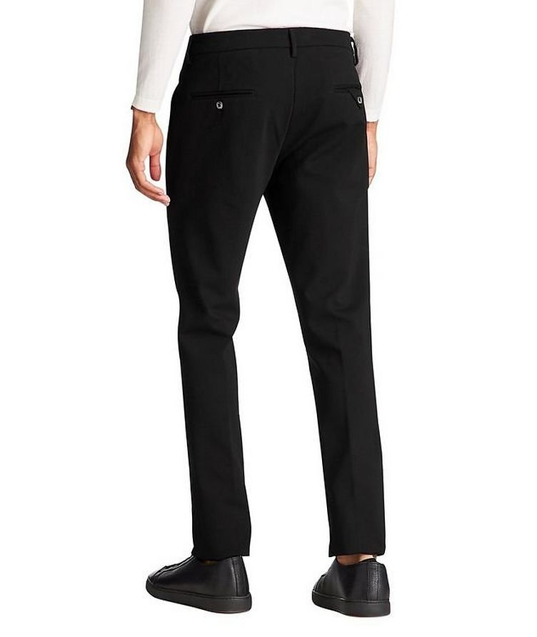 Slim Fit Stretch Trousers image 2