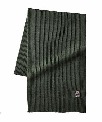 Parajumpers Ribbed Wool Scarf
