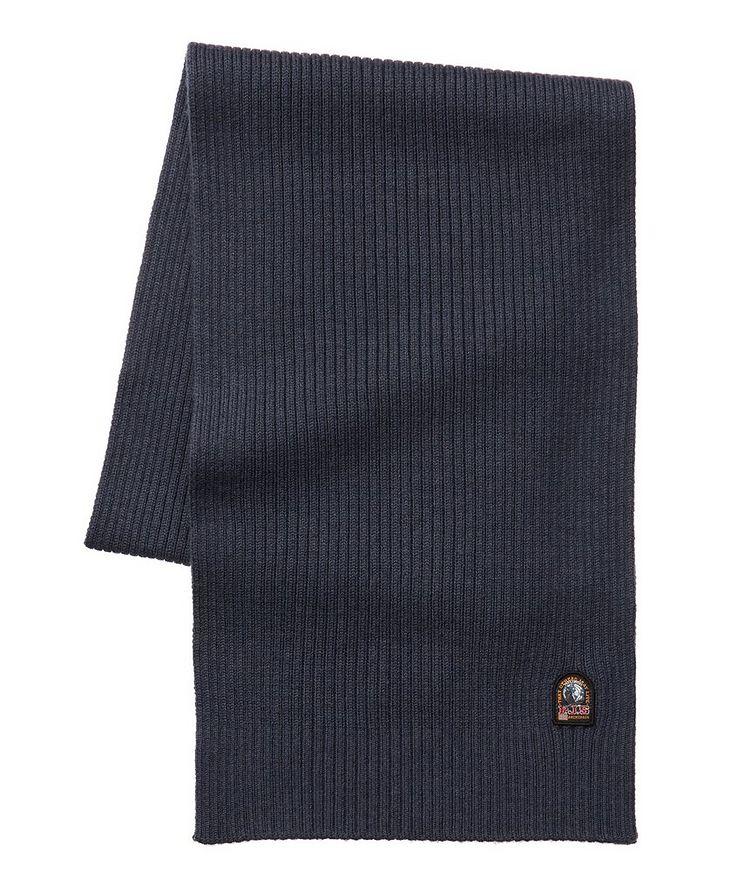 Ribbed Wool Scarf image 0
