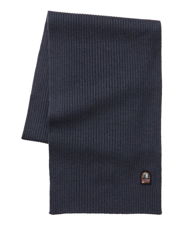 Ribbed Wool Scarf picture 1